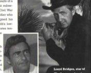 "Rod Serling and Lloyd Bridges premiering ""The Loner"""