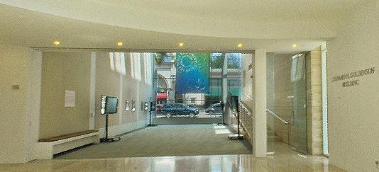 The lobby on a Thursday afternoon