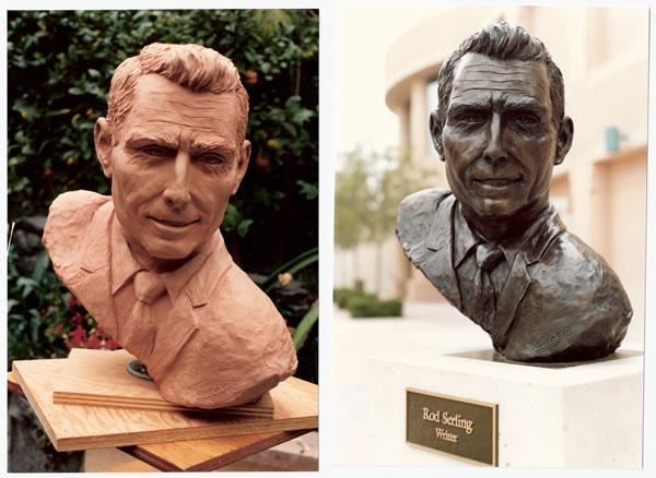 Rod Serling bust