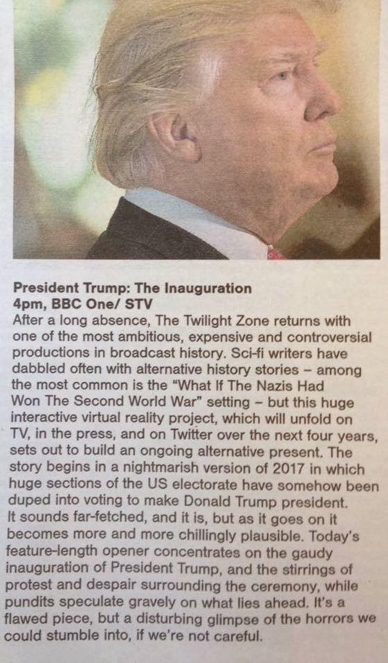 Present Trump article