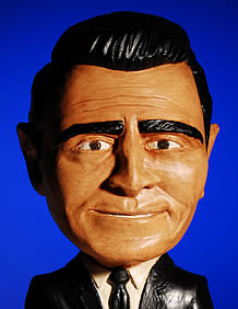 Rod Serling sculpture