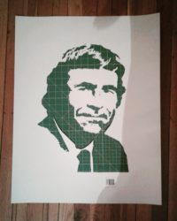 Rod Serling stencil