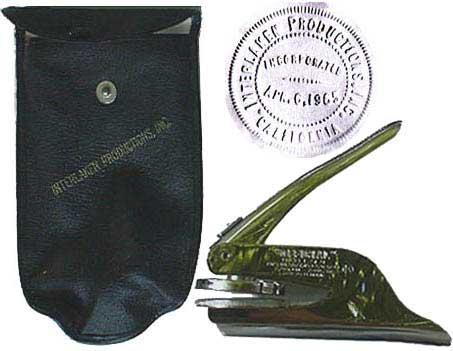 Production company seal