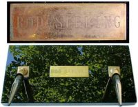 Rod Serling pen holder