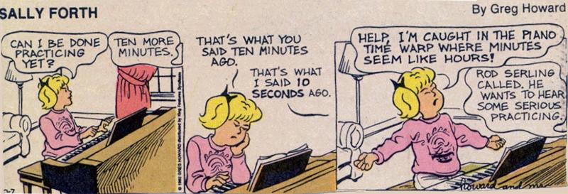 Sally Forth comic
