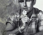 Rod Serling dictating, 1959