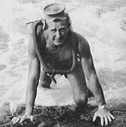 "Llyod Bridges in ""Sea Hunt"""