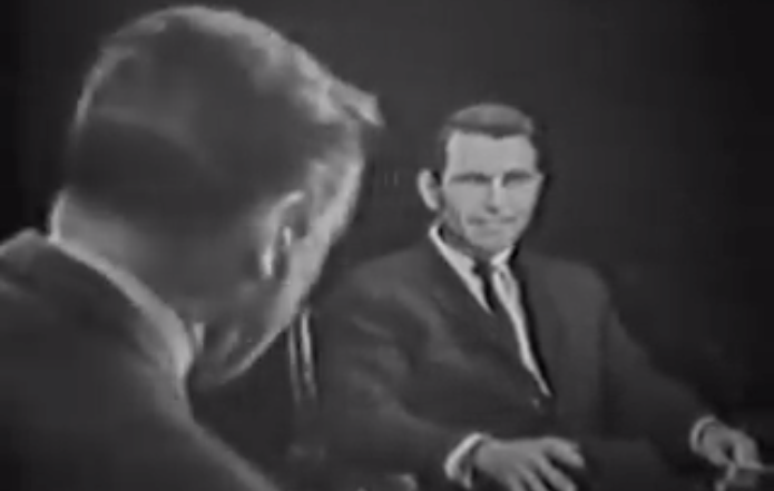 Mike Wallace interviews Rod Serling