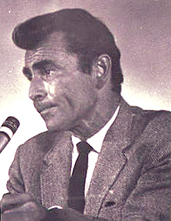 Rod Serling at Moorpark College, 1968