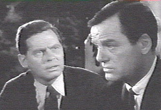Frank Overton and Gig Young in Walking Distance