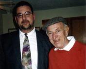 Tony Albarella and Jack Klugman