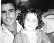 Rod Serling and daughter Anne