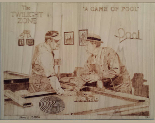 """Jonathan Winters and Jack Klugman in """"A Game of Pool"""""""