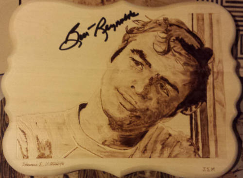 "Burt Reynolds in ""The Bard"""