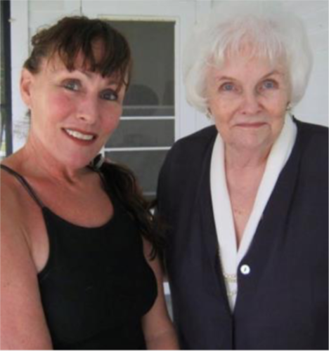 Carol Serling and daughter Jodi