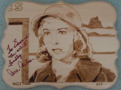 "Vera Miles in ""Mirror Image"""