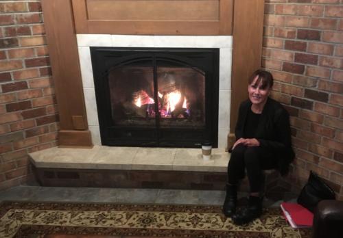 Jodi Serling warms up