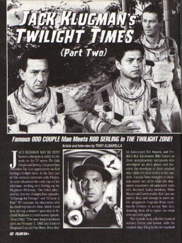 Klugman Filmfax 6
