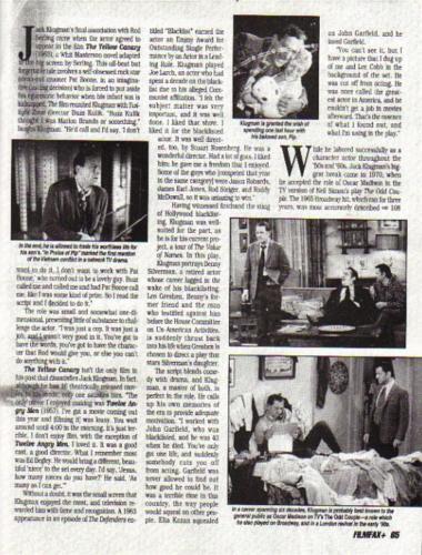 Klugman Filmfax 9