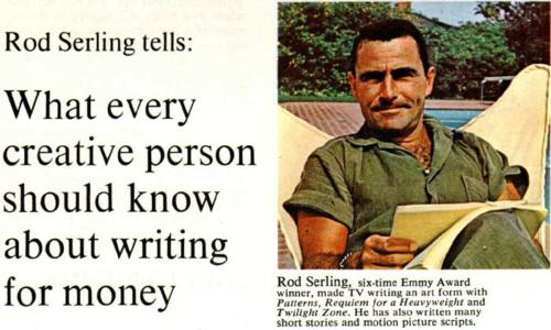 Famous Writers School Ad