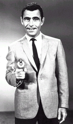 Publicity Shots of Rod Serling