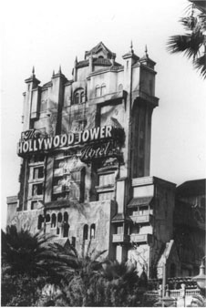Twilight Zone Tower of Terror at Disney Studios